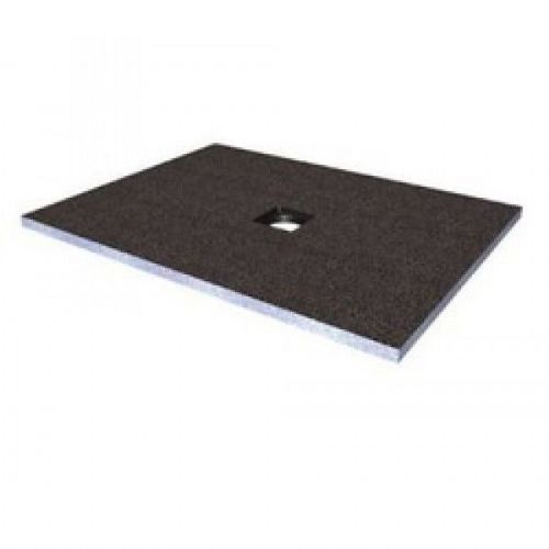 Abacus Elements Rectangular Standard Shower Tray 30mm High With Centre Drain - 1200mm x 900mm